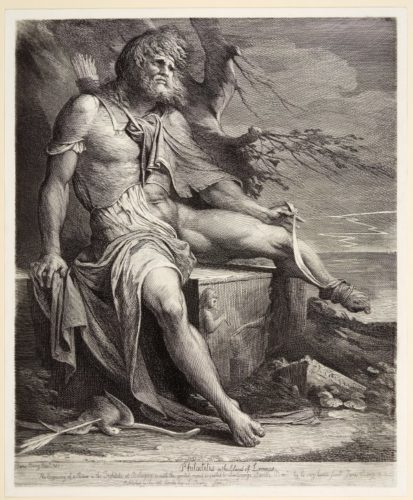 Philoctetes by James Barry at