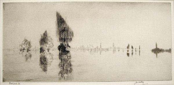 Laguna Veneta by James McBey