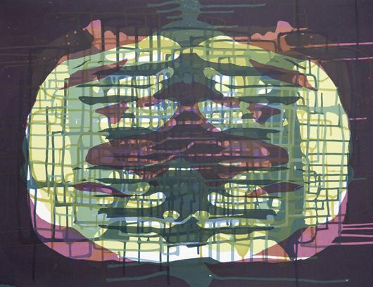 Spilling Memory 10 by Janaina Tschape