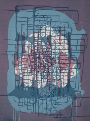 Spilling Memory 34 by Janaina Tschape