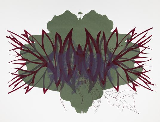 Spilling Memory 39 by Janaina Tschape