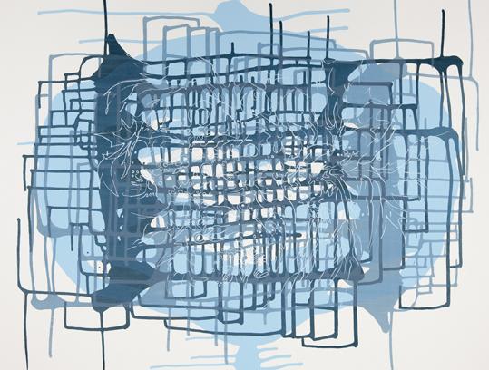 Spilling Memory 42 by Janaina Tschape