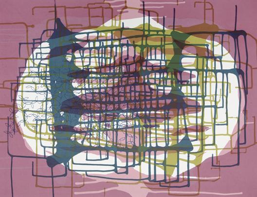 Spilling Memory 43 by Janaina Tschape