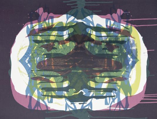 Spilling Memory 45 by Janaina Tschape