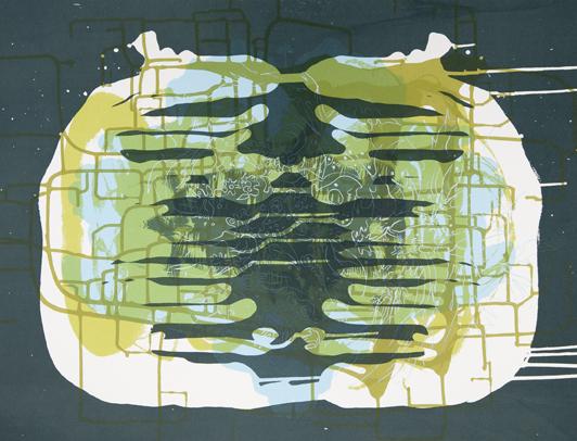 Spilling Memory 47 by Janaina Tschape
