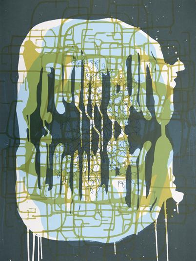 Spilling Memory 53 by Janaina Tschape