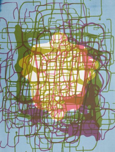 Spilling Memory 61 by Janaina Tschape