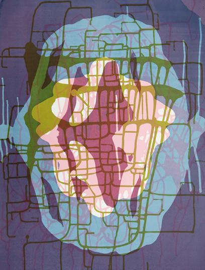 Spilling Memory 62 by Janaina Tschape