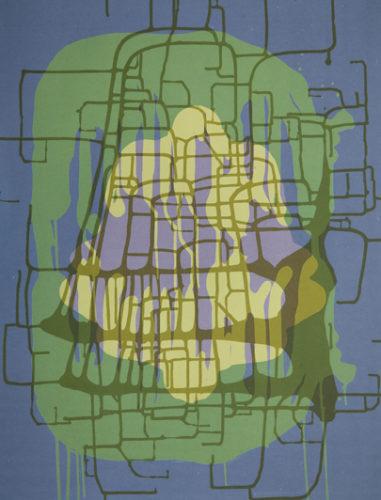 Spilling Memory 65 by Janaina Tschape