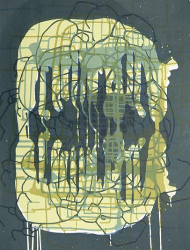 Spilling Memory 70 by Janaina Tschape