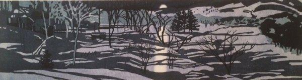 Quechee Night by Jane E. Goldman