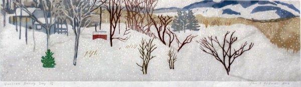Quechee Snowy Day by Jane E. Goldman