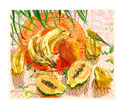 Tropical Still Life by Janet Fish