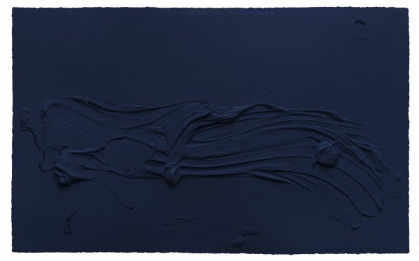 Untitled (prussian Blue) by Jason Martin at