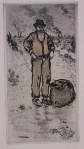 Le Chiffonnier / The Ragman by Jean-François Raffaelli at