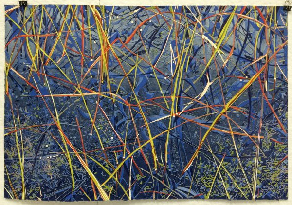 Swedish Grass by Jean Gumpper