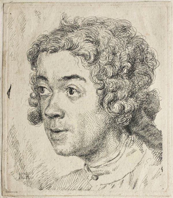 Self-portrait As A Young Man by Jean-Étienne Liotard