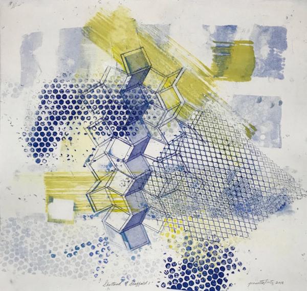 Scattered Scaffold 1 by Jeanette Fintz