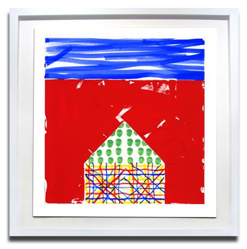 House II .5 by Jennifer Bartlett