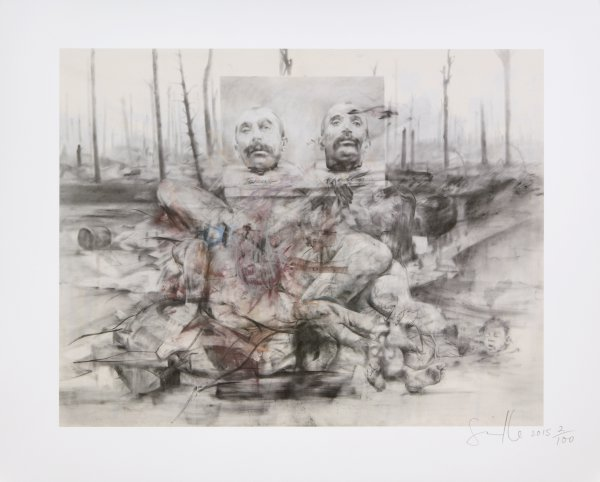 Voice Of The Shuttle (philomela) by Jenny Saville at