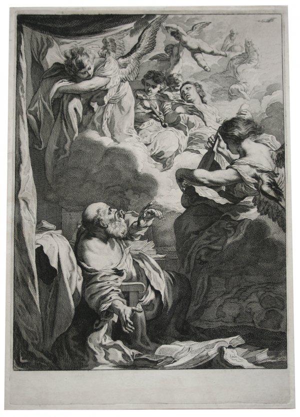 The Ecstasy Of Saint Paul by Jerimias Falck