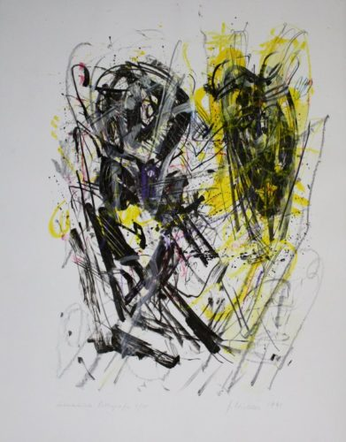 Schwarz – Gelb / Black – Yellow by Joachim Czichon