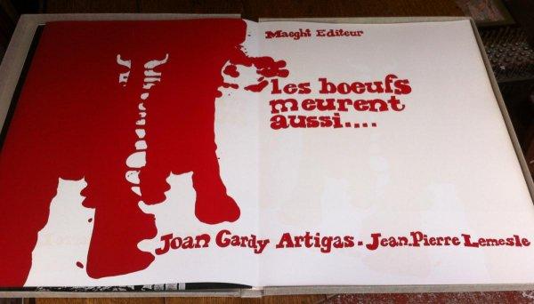 Les Bœufs Meurent Aussi by Joan Gardy-Artigas