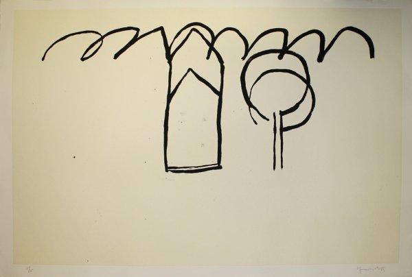 Cases I Arbres 1 by Joan Hernandez Pijuan