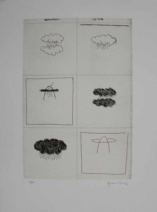 Esbós by Joan Hernandez Pijuan