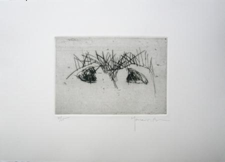 Hojas 2 by Joan Hernandez Pijuan at