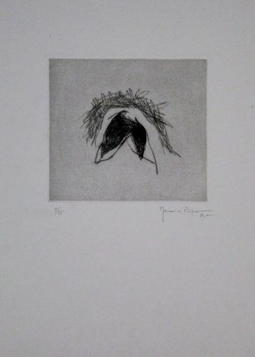Hojas 3 by Joan Hernandez Pijuan