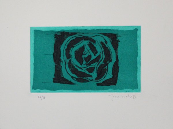 Rosa Verda / Green Rose by Joan Hernandez Pijuan