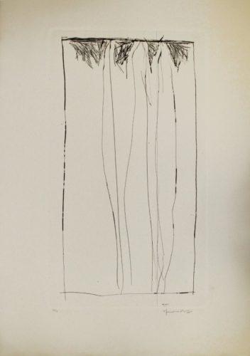 Tres Xiprers / Three Cypresses by Joan Hernandez Pijuan at