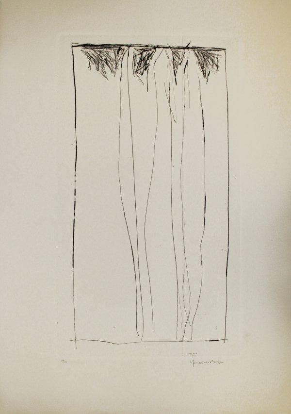 Tres Xiprers / Three Cypresses by Joan Hernandez Pijuan