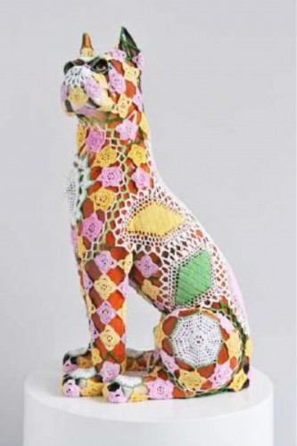 Lady – Sculpture by Joana VASCONCELOS