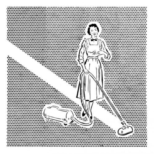 Lichtenstein's Cleaner by Joe Webb