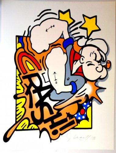 Popeye by John CRASH