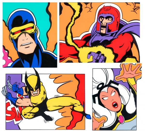 X-men Portfolio by John CRASH