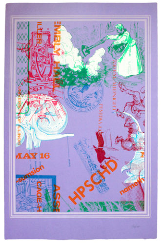 Hpschd (lavender) by John Cage