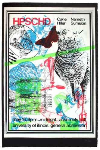 Hpschd (sheep) by John Cage