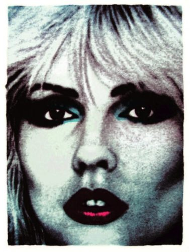 Debbie Harry (face No.5) by John Dove and Molly White
