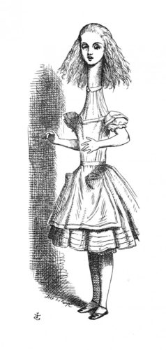 'curiouser And Curiouser!' Cried Alice… by John Tenniel