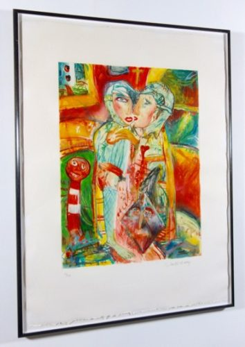 The Lovers by John Bellany