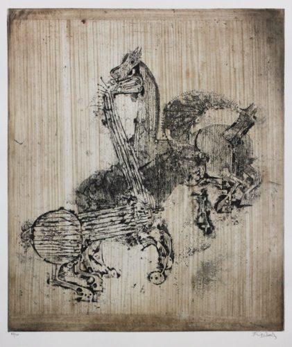 Trois Chevaux I by Johnny Friedlaender