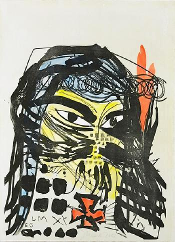 Untitled by Jonathan Meese at