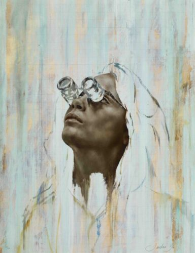 Cara I (goggles) Print by Jonathan Yeo