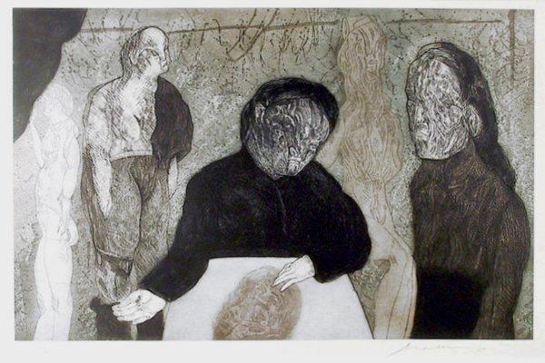 Clase De Anatomia From The Intolerance Portfolio by Jose Luis Cuevas