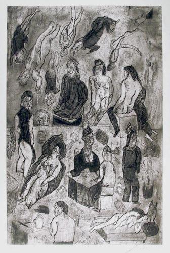 Las Victimas From The Intolerance Portfolio by Jose Luis Cuevas