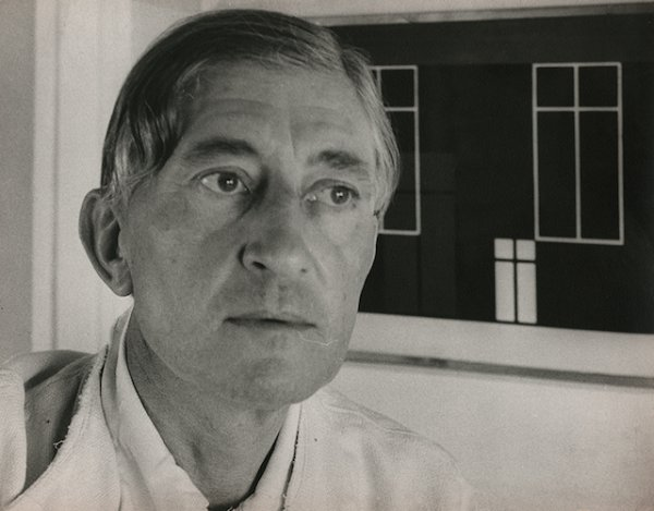 Josef Albers, Black Mountain College, North Caroli by Josef Breitenbach
