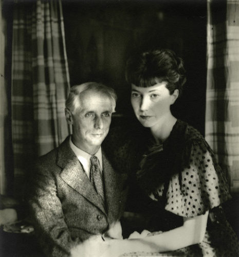 Max Ernst & His Wife, Marie-berthe Aurenche, Paris by Josef Breitenbach